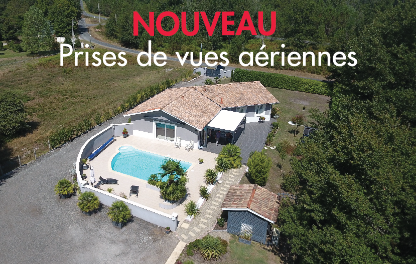 vue arienne agence immobiliere absimmo à salles
